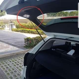 Vezel touch sensor boot lamp