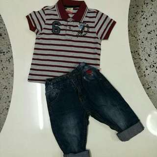 POLO Boys Set 3-4years