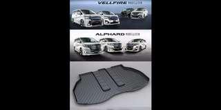 Toyota Alphard / Vellfire Boot Tray