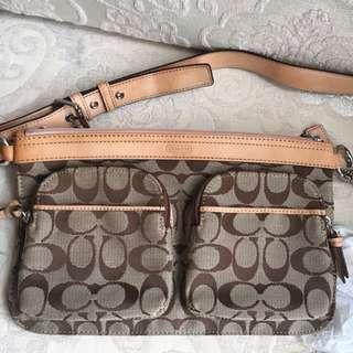 [👛全新超抵❗️] Coach 腰包多用手袋 multi function Bag