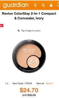 Revlon ColorStay 2-In-1 Compact & Concealer