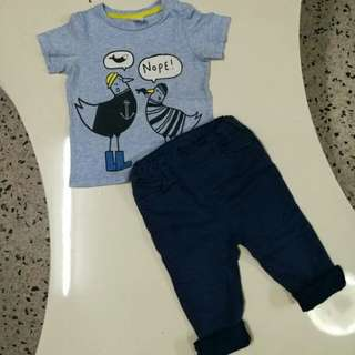 H&M baby Sets 12-18month