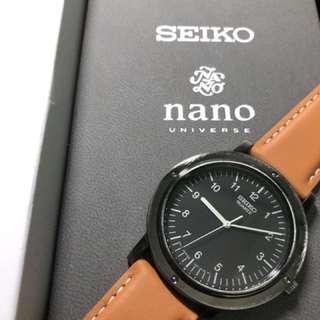 Seiko nano NU限定別注 37.5mm Steve jobs 限量300 好過買DW