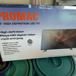 BRAND NEW promac tv. led 32inc