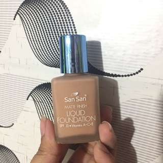 San San Matte Liquid Foundation
