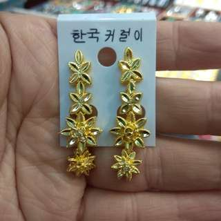 Plated 24k gold 電鍍金耳環