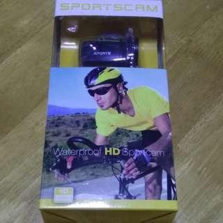 Waterproof HD Sportscam for sale.