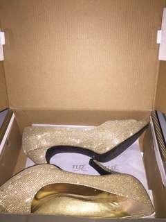 Heels Gold Fladeo