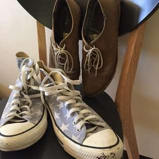 2 hipster shoes for the price of one!! (Converse and keds)