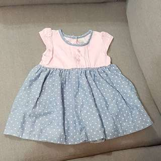 Hush Puppies Baby Dress 6-12months