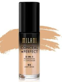 Milani Foundation No.3 Light Beige