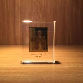 Portrait of Thai King in Fine Gold Foil (in Casing)
