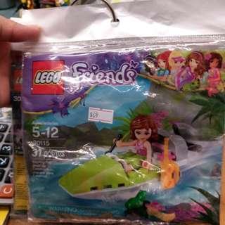 Lego 30115 Friends Jungle Boat