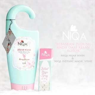 Niqa Hijab Wash+ Niqa Instant Magic Spray