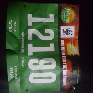 Lagalag race bib 12km