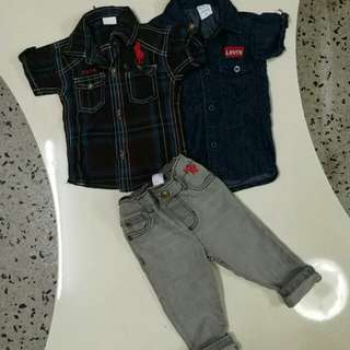 NEW baby boy sets 12-18month