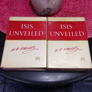 ISIS UNVEILED VOL. 1 & 2 by H. P. Blavatsky