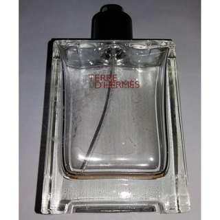 Empty Terre D' Hermes Perfume Bottle - 100ml