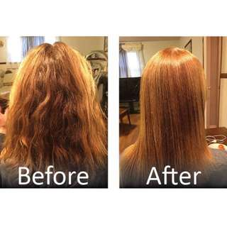 LOOKING FOR MODEL DOING REBONDING HAIR