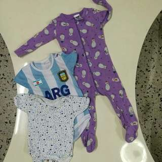 baby jumper&romper 3-6month