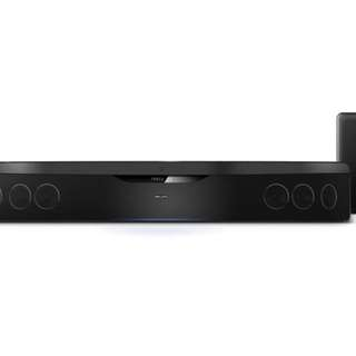 Philips home theatre system sound bar with sub woofer