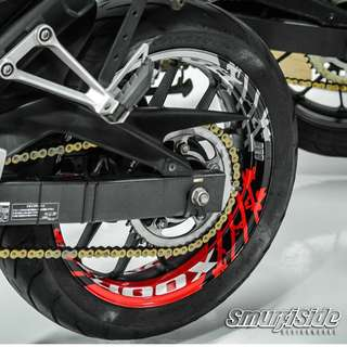 ORALITE REFLECTIVE RIM WRAP FOR  ALL BIKES