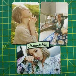Taeyeon & Jessica Photocard