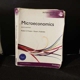 Microeconomics Eight Edition International Edition
