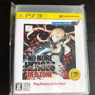 FREE Ps3 No More Heroes Red Zone