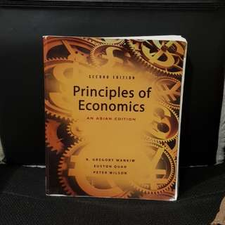 Principles of Economics Second Edition Asian Edition