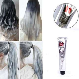 Permanent Ash Grey Hair dye