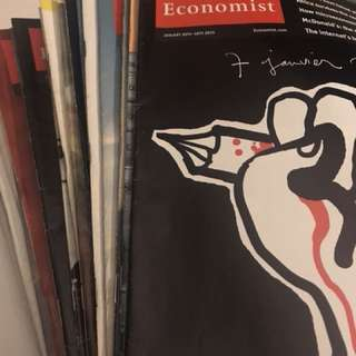 The economist - 14 magazines from Dec 2014 to June 2015