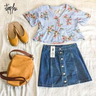 Button Down Skirt (Code-Arlo)