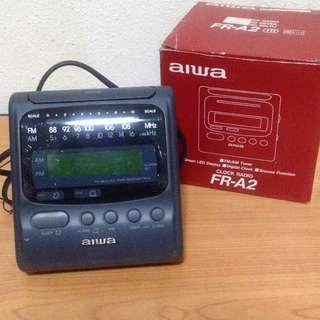Aiwa Clock Radio