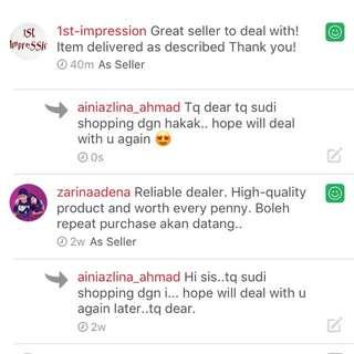 😍Testimony customer 😍