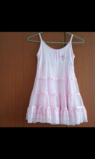 Fisher Price pink lace dress