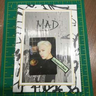 GOT7 MAD Mini Album With Jackson Photocard