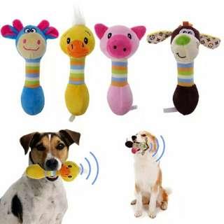 Pet Dog Toys Chew Squeaker (Animals)