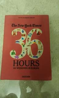 The New York Times 36 Hours Europe travelogue