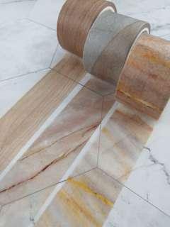 木紋 MT 紙膠帶 分裝 Wood washi tape samples
