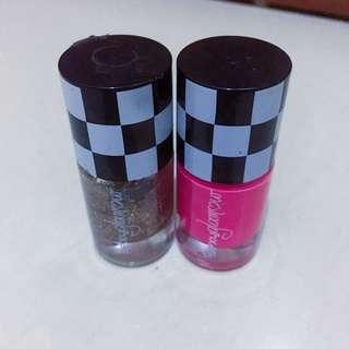 Kuteks Pink & Gliter (30.000/2pcs)