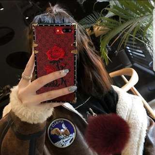 S8 vintage rose phone cover