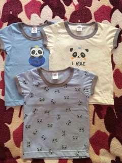 Pre loved Bebe so-en shirts 3-6M