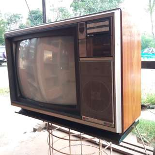 Tv philips retro antik.