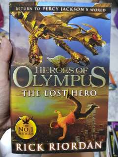 Heroes of Olympus - The Lost Hero by Rick Riordan