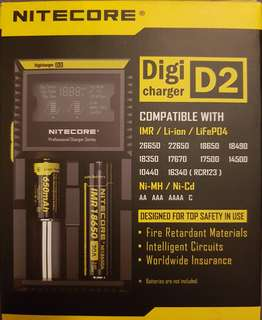 Nitecore Digicharger D2 (used)