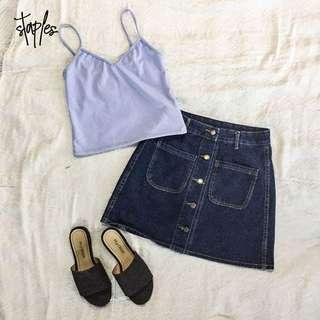 Button Down Skirt (Code-Rachel)