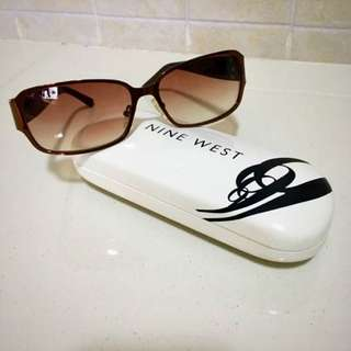 Brand New Authentic Nine West Sunglasses Special Edition In Copper Champagne