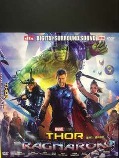 Dvd English movie, Thor Ragnarok