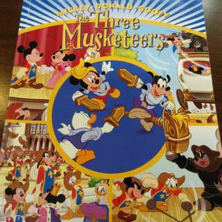 Disney the three Musketeers
